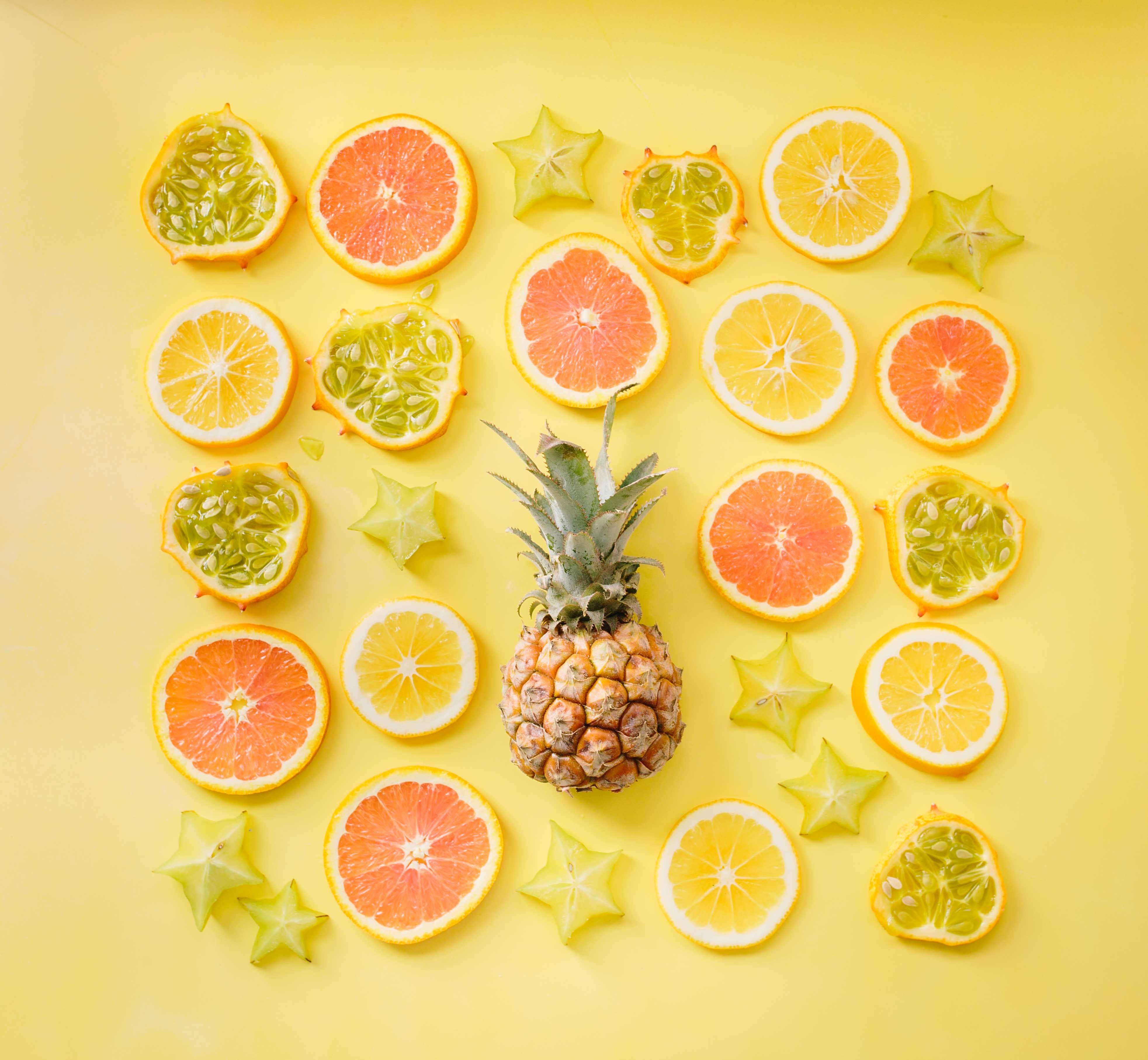 フルーツがいっぱい