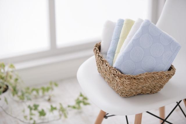 タオルの臭いをとる方法