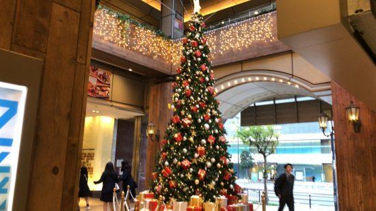 天王寺ミオ クリスマスツリー