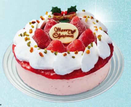 あまおう苺のデコレーションケーキ