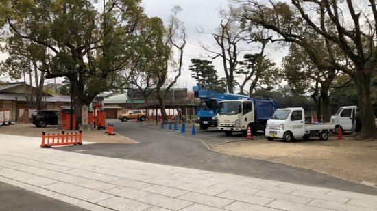 方違神社 駐車場