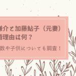 宮崎謙介 加藤鮎子 離婚理由